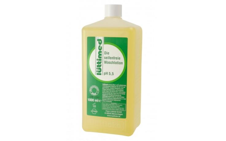 lüttimed Seife in der Nachfüllflasche