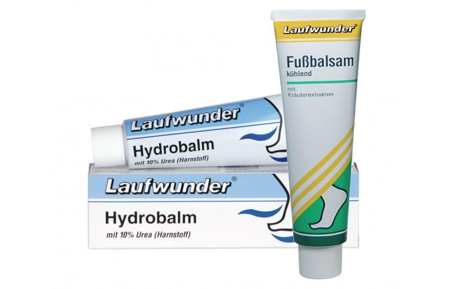 """Laufwunder """"Fußpflege im Set"""" Fußbalsam kühlend & Hydrobalm"""